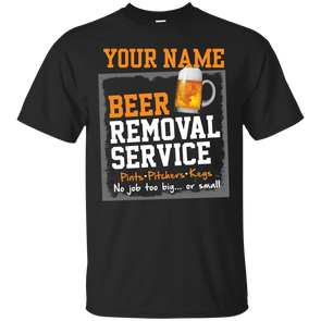 Beer Removal Service Personalized