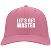 Let's Get Wasted Flex Fit Twill Baseball Cap