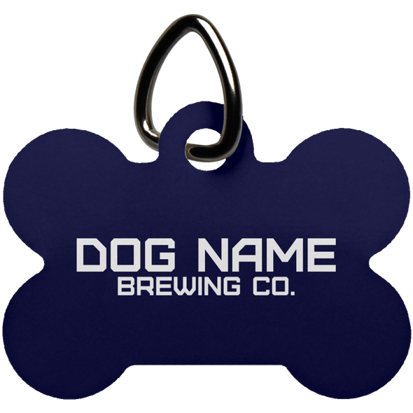 Personalized Dog Bone Pet Tag