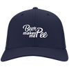 Beer Makes Me Pee Flex Fit Twill Baseball Cap