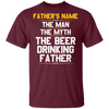 Personalized The Man The Myth The Beer Drinking Father