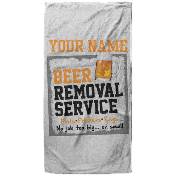 Beer Removal Service High Quality Large Beach Towel
