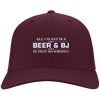 All I want is Beer and BJ Flex Fit Twill Baseball Cap - Last Beer Standing