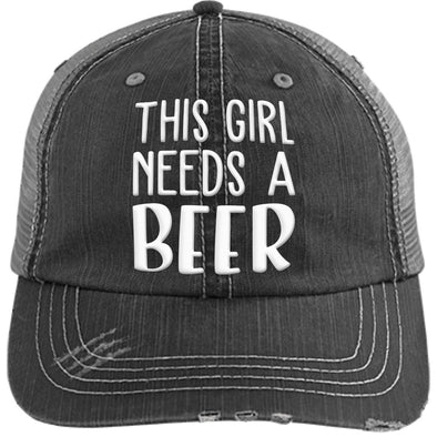 This Girl Needs a Beer Cap - Last Beer Standing