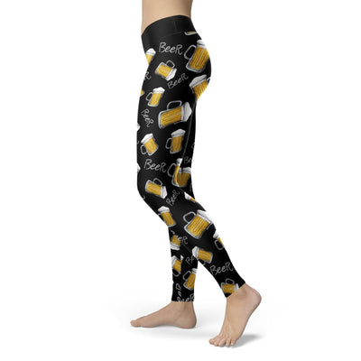 High Quality Beer Mug Leggings