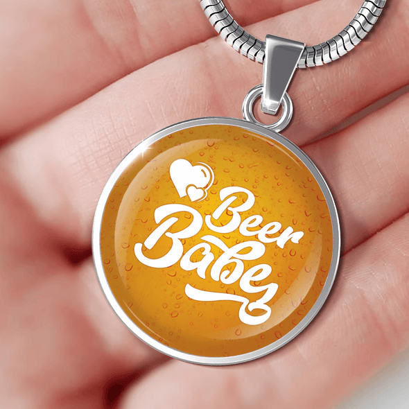 Beer Babe Necklace