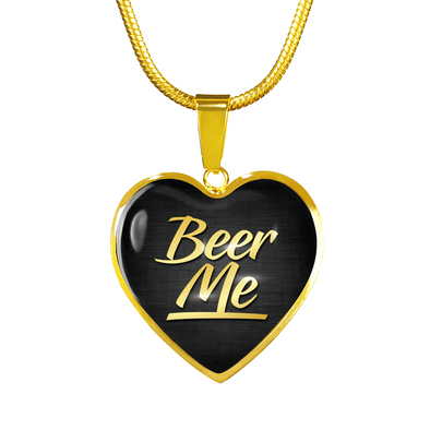 Beer Me | Real 18k Gold Finish