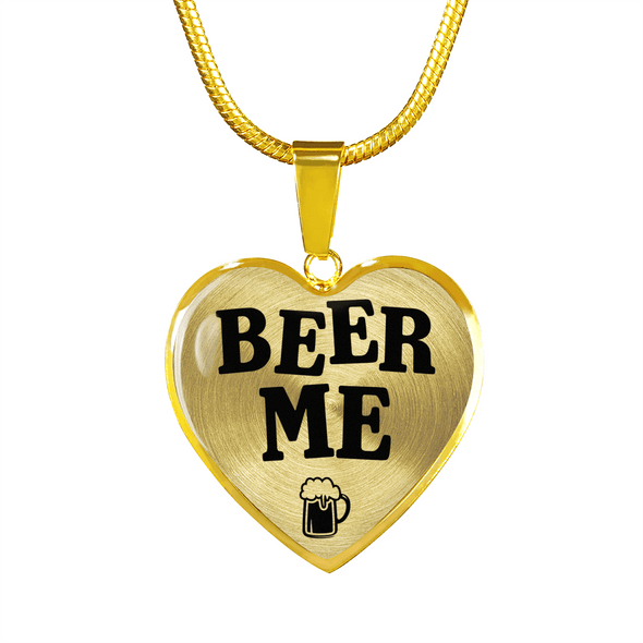 Beer Me Gold Jewlery