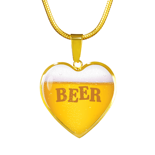 Beer Foam Real 18k Gold Finish