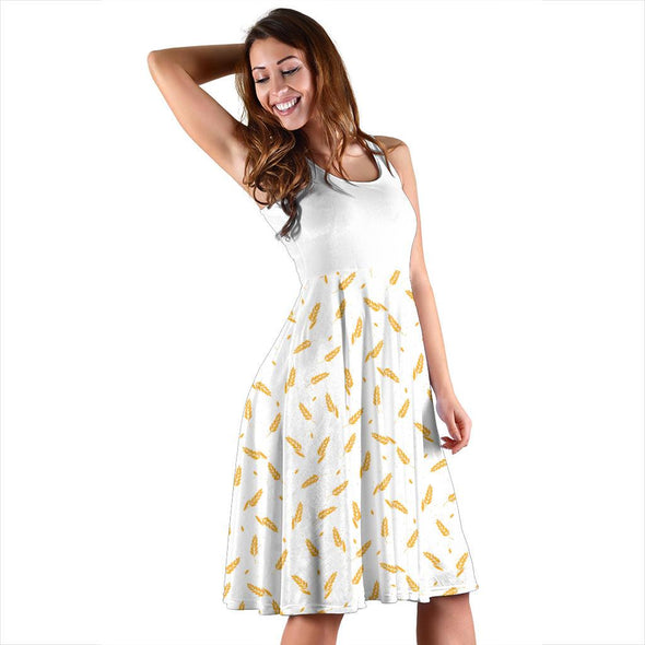 Abstract Barley Women's Dress