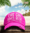 This Girl Loves Beer Pink Cap - Last Beer Standing