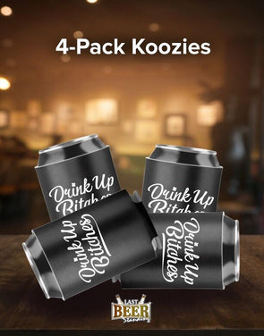 Drink Up B 4-Pack Koozies