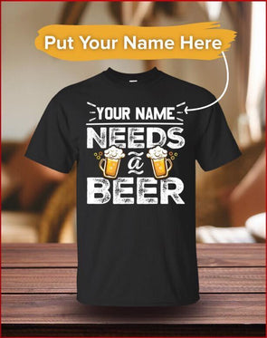 Personalized Needs a Beer