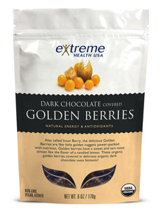 Dark Chocolate Covered Golden Berries - Organic - Sprout Planet