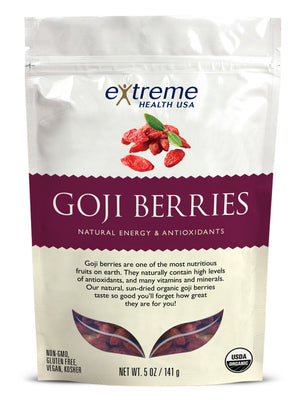 Raw Organic Goji Berries - Sprout Planet