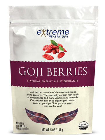 Image of Raw Organic Goji Berries - Sprout Planet