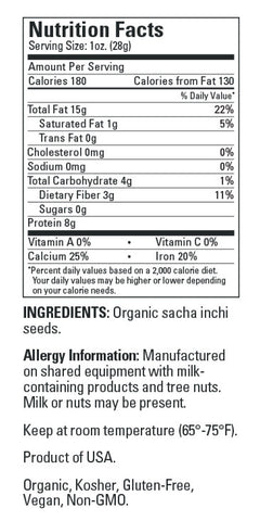 Sacha Inchi Seeds - Organic - Sprout Planet