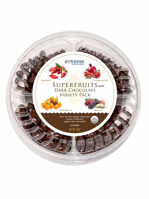 Dark Chocolate Superfruit Variety Pack - Sprout Planet