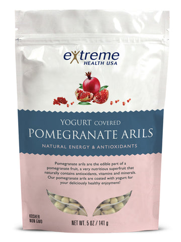 Yogurt Covered Pomegranate Arils - Organic - Sprout Planet