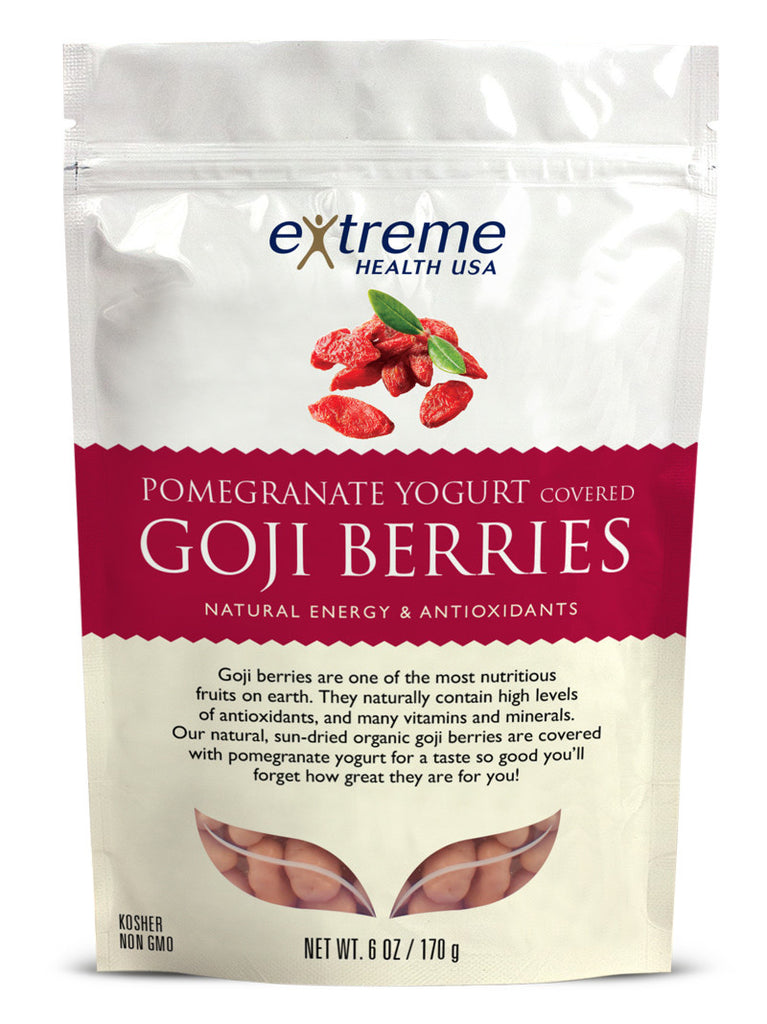 Yogurt-Pomegranate Goji Berries - Organic - Sprout Planet