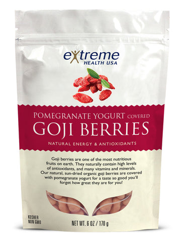 Image of Yogurt-Pomegranate Goji Berries - Organic - Sprout Planet