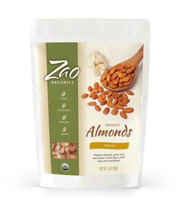 Garlic Almonds - Sprout Planet