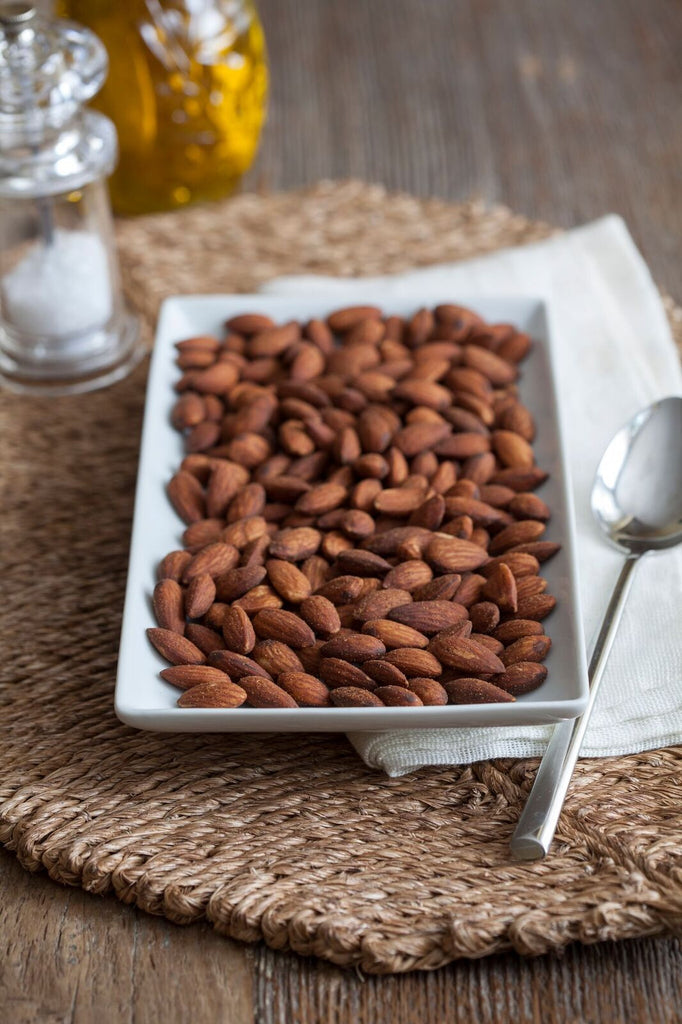 Sweet Chili Almonds - Sprout Planet