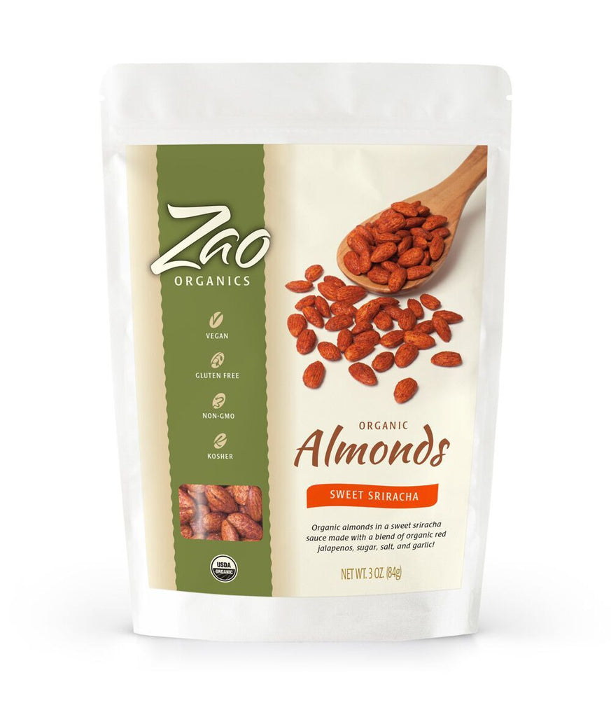 Sweet Sriracha Almonds - Sprout Planet
