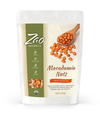 Sweet Sriracha Macadamia Nuts - Sprout Planet