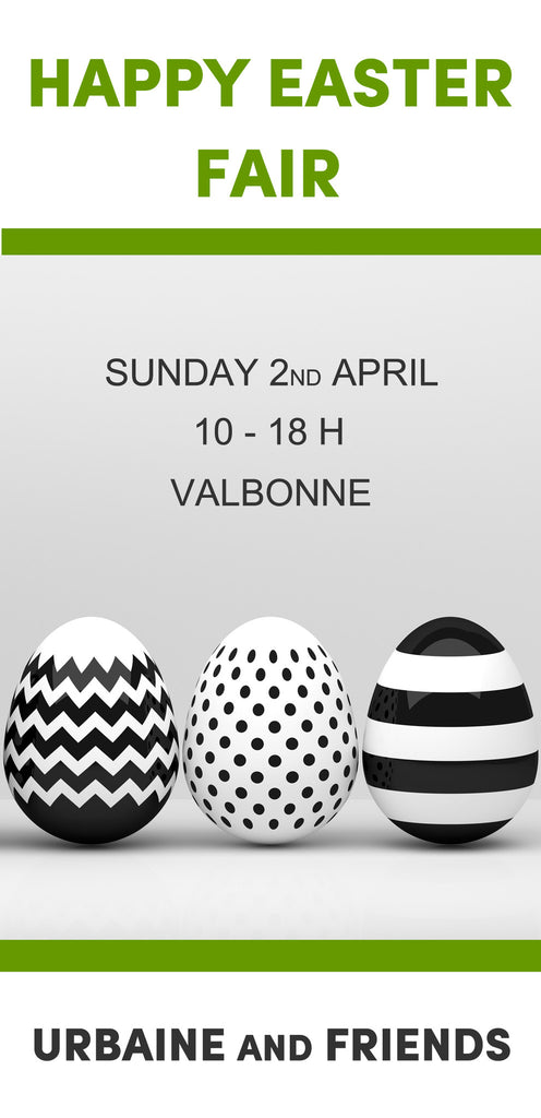 URBAINE and FRIENDS HAPPY EASTER FAIR  SUNDAY APRIL 2ND