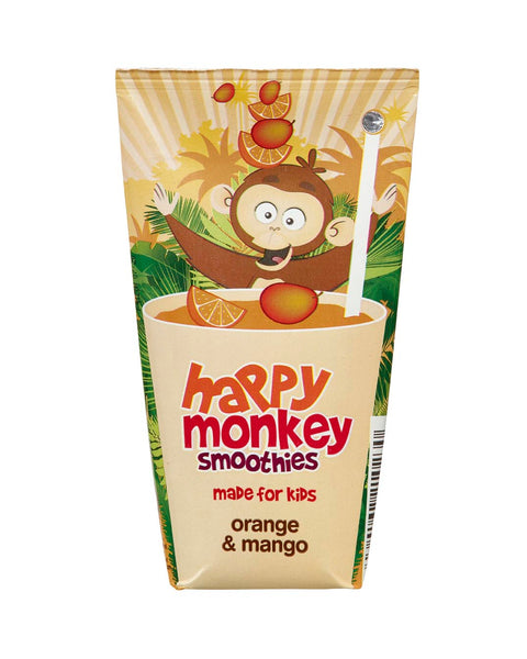 Happy Monkey Orange/Mango Smoothie 180ml