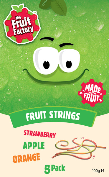 Fruit Factory Fruit Strings - (5 x 20g) 100g