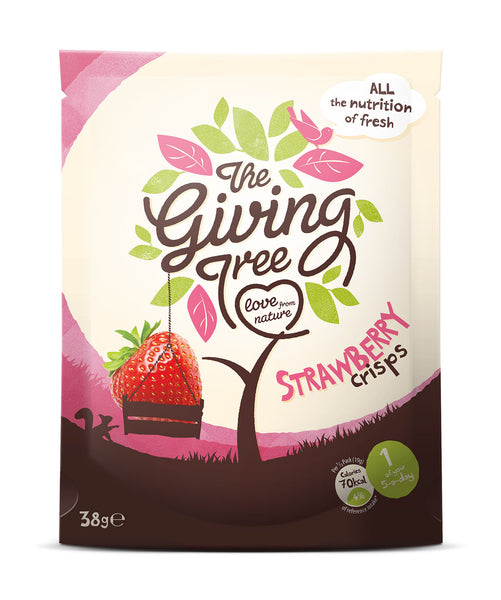Giving Tree Crisps 18g 2 Flavours