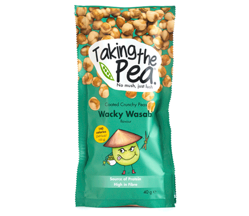 Taking The Pea Cheezy Peasy or Wasabi 40g