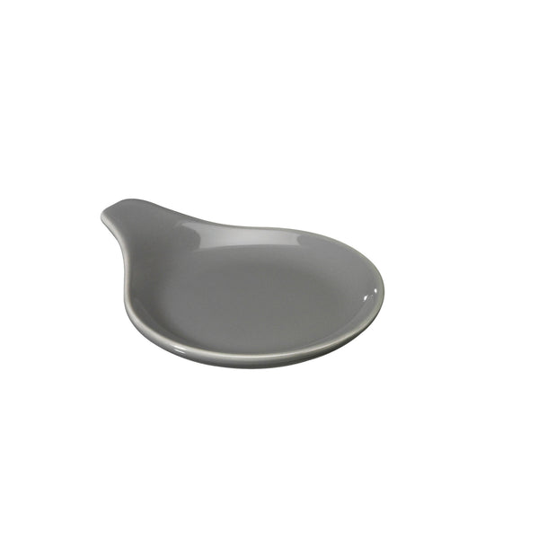 Tea Strainer Rest - White - Grey