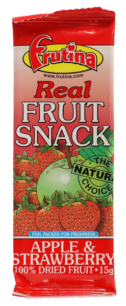 Frutina Snack Bar Apricot - Raspberry - Strawberry - Wildberry 15g