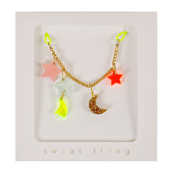 Necklace Stars and Moon