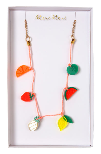 Necklace Fruit Charms