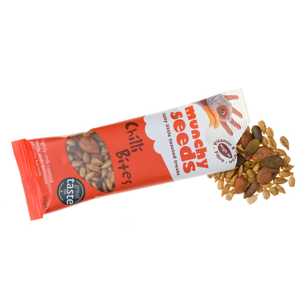 Munchy Seeds Snack Packs - 7 flavours - 25g