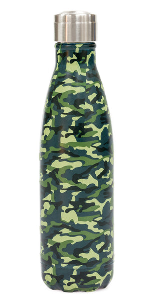 Yoko Design Insulated Bottle 500ml - Camouflage or Ethnique