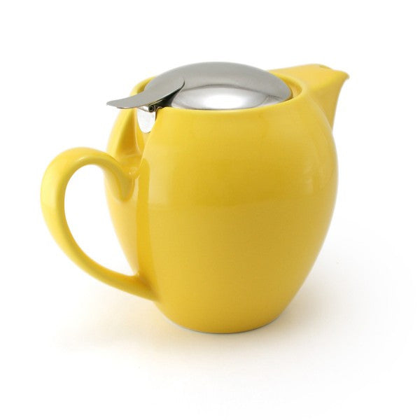 Zero Japan Teapot Round 0.58L - Yellow Pepper