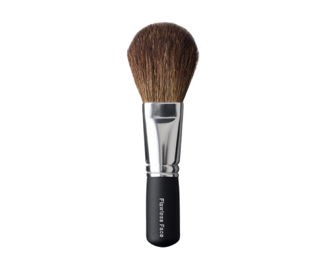 Mineral makeup blush brush.