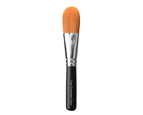 Mineral makeup foundation brush.