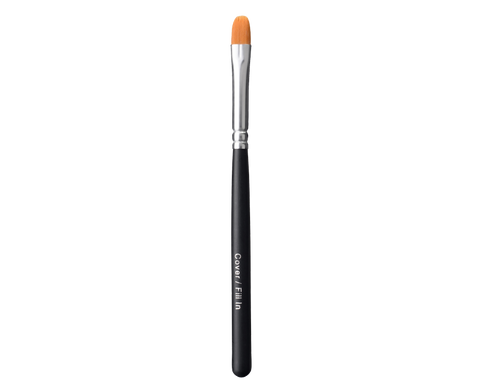 Mineral makeup concealer and blending brush.