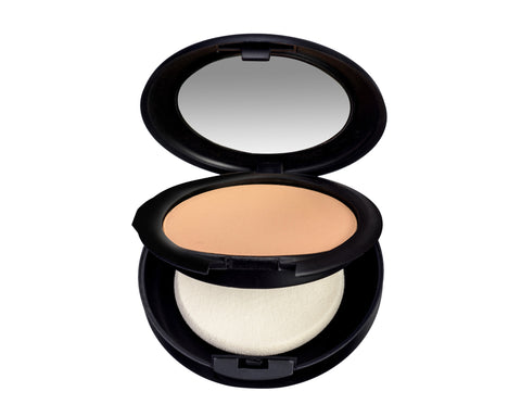 Mineral makeup pressed powder foundation