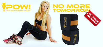 Knee wraps for weightlifting