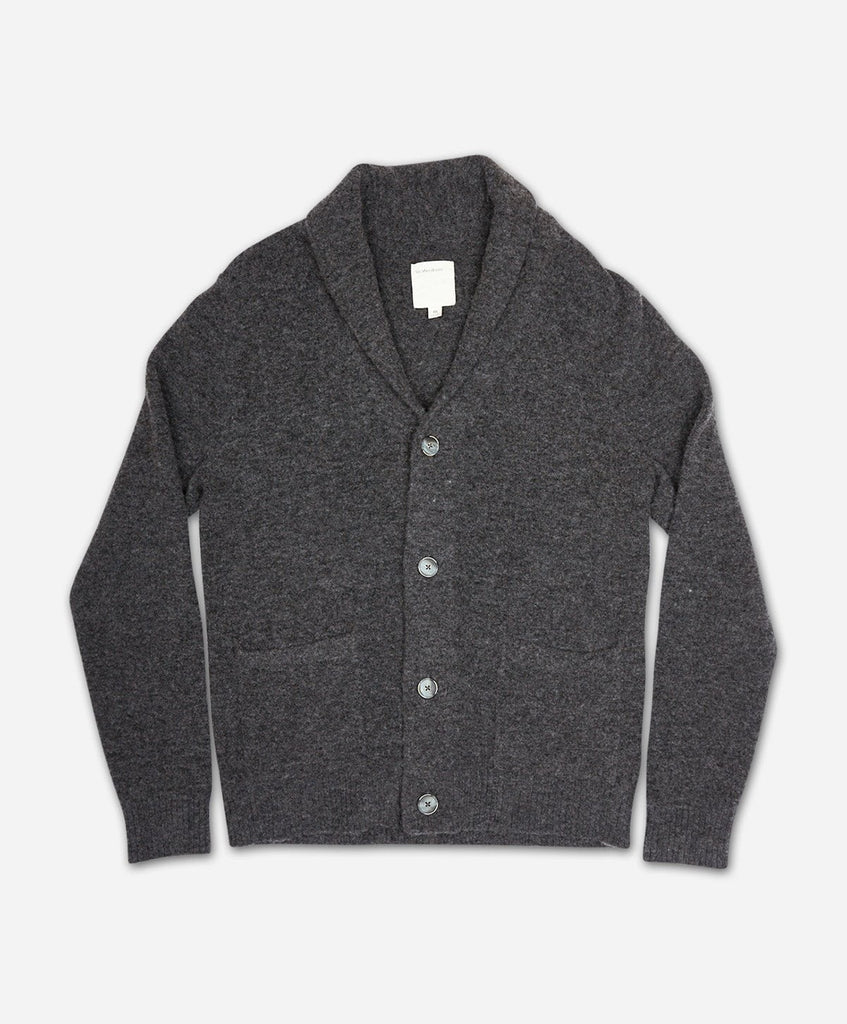 Alps Cardigan - Heather Charcoal