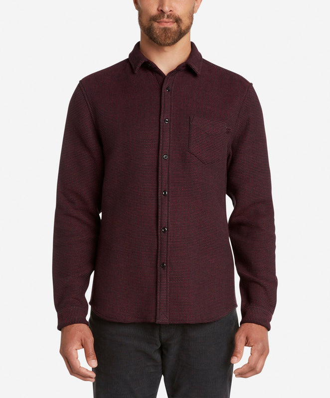 Archer Shirt - Oxblood