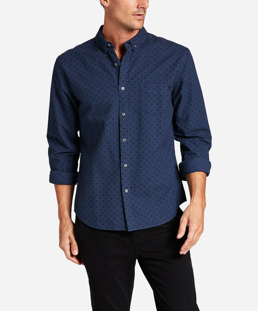Art Deco Shirt - Blue Blood