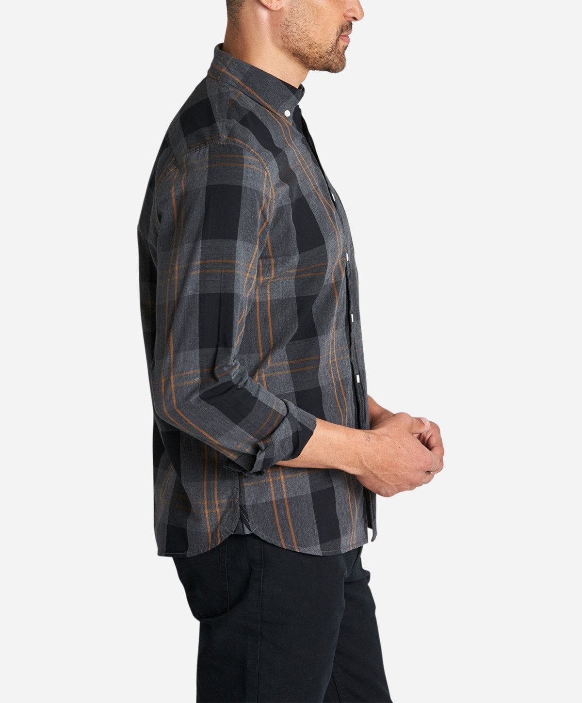 Beacon Shirt - Heather Charcoal